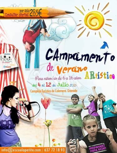 Campamento artístico de La Petite