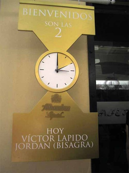 El reloj que marca la hora de los #Especiales