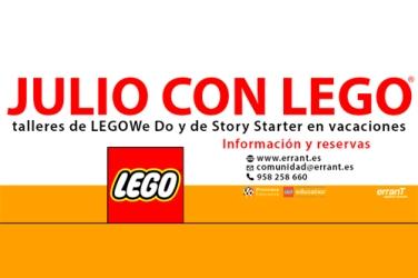 Taller de Lego en ErranTe