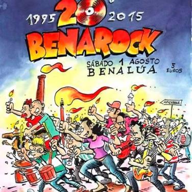 Vigésima edición del Festival Benarock de Benalúa de Guadix
