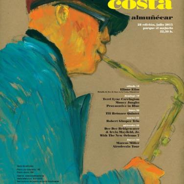 28ª edición del Festival de Jazz en la Costa. Del 18 al 23 de julio. Parque del Majuelo. Almuñécar .