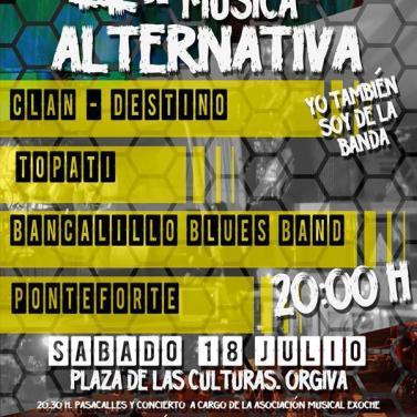II Festival de Música Alternativa de Órgiva