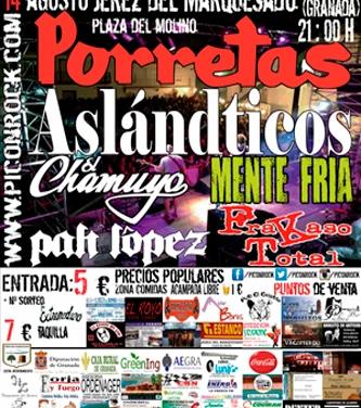 Festival Picón Rock en Jerez del Marquesado