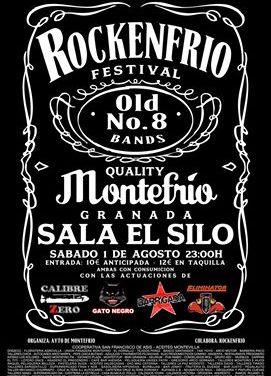 Festival de Rock Rockenfrio. Montefrío