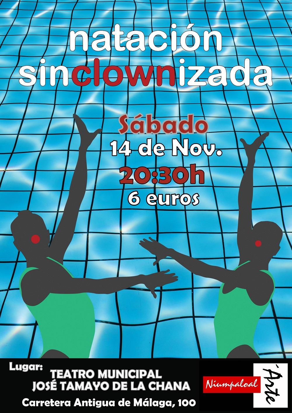 Natación SinCLOWnizada Teatro Tamayo Granada