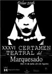 Certamen Marquesado 2016 cartel