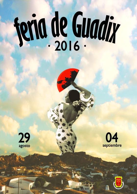 Cartel Feria guadix 2016